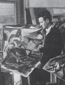 Youla Chapoval dans son atelier de l'avenue Montaigne, à Paris.