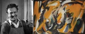 """""""Orbes"""", huile sur toile, 100,3 x 150 cm, 1951, coll. privée. ® M.-L. Moisset."""