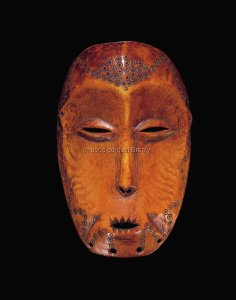 Masque. Ivoire. H. : 20 cm. © Fowler Museum at UCLA ; Private Coll., Los Angeles.