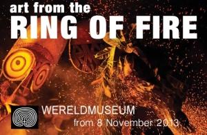 """Art from the Ring of Fire"", exposition au Wereldmuseum, Rotterdam, jusqu'en avril 2014."