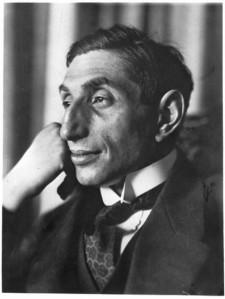 « Alfred Flechtheim », par Thea Sternheim, 1911.