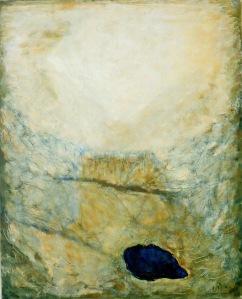 Joseph Sima, Chaos, 1959. HST, 100 x 81 cm. Musée de l'Hospice Saint-Roch, Issoudun. Donation Cécile Reims-Fred Deux, 2006. © ADAGP, Paris 2015. Photo. A. Ricci.