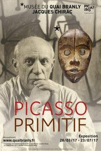 Affiche Picasso primitif