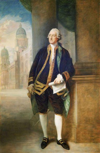 John Montagu par Thomas Gainsborough