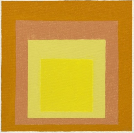 Josef Albers (1888-1976), « Study for Homage to the Square: Consent », 1971. Huile sur masonite. Dim. : 40,3 x 40,2 cm. Solomon R. Guggenheim Museum, New York, Gift, The Josef Albers Foundation, Inc. 1991/Artists Rights Society (ARS), New York. Inv. 91.3895.