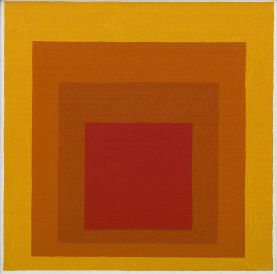 Josef Albers (1888-1976), « Study for Homage to the Square: Closing », 1964. Acrylique sur masonite. Dim. : 40,2 x 40,2 cm. © The Josef and Anni Albers Foundation / Artists Rights Society (ARS), New York. Inv. 69.1917.