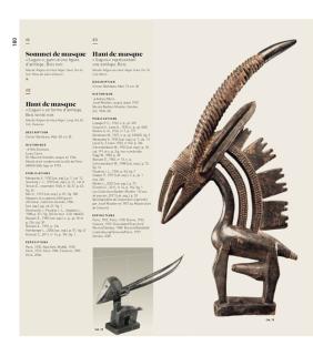 « Galerie Pigalle - Afrique - Océanie. 1930. Une exposition mythique ». Catalogue Afrique, p. 180.